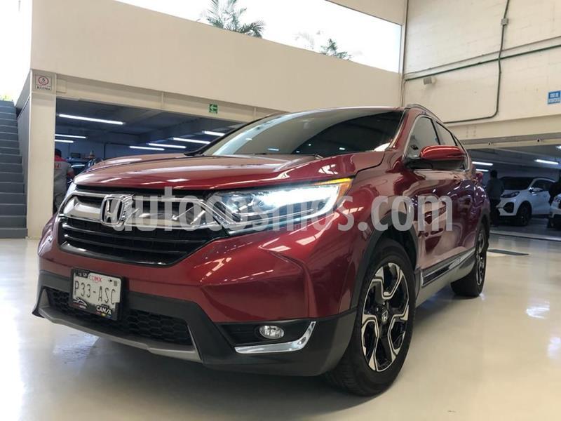 Honda CR-V Touring usado (2017) color Rojo precio $394,100