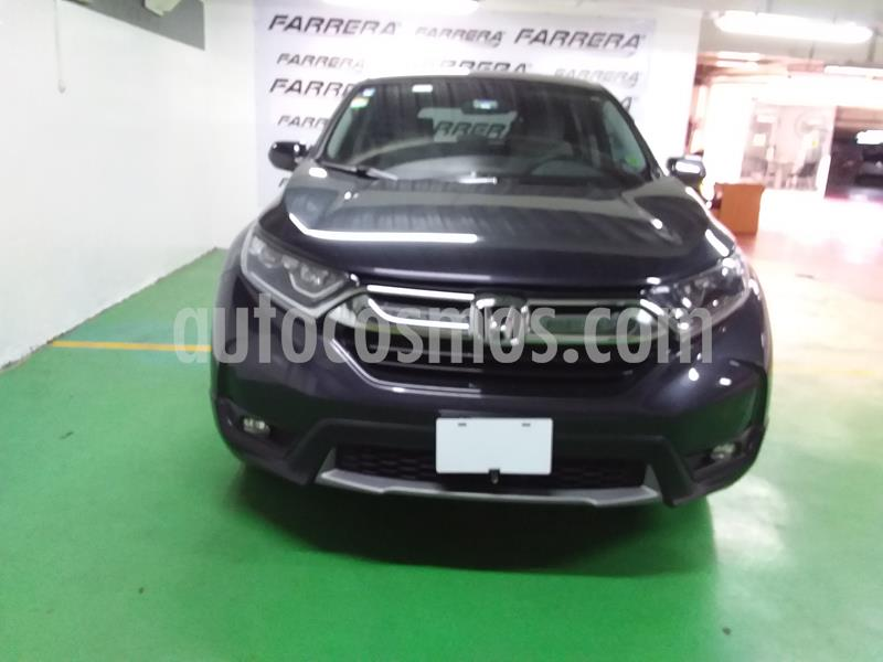 Honda CR-V Turbo Plus usado (2018) color Gris precio $410,000