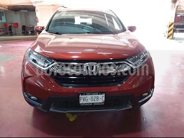 Honda CR-V Touring usado (2018) color Rojo precio $450,000