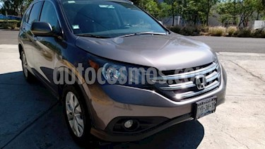 Honda CR-V 5P EXL TA A/AC. AUT. QC PIEL DVD GPS RA usado (2014) color Amarillo precio $237,000