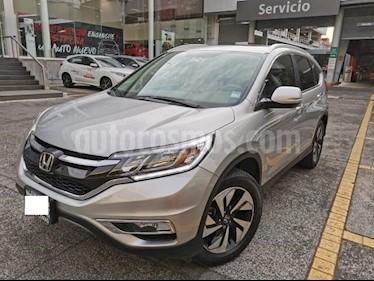 Honda CR-V 5P EXL CVT A/AC. AUT. QC PIEL DVD GPS RA-18 usado (2015) color Plata precio $310,000