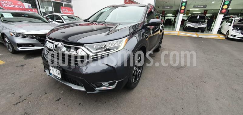 Honda CR-V Touring usado (2017) color Acero precio $395,000