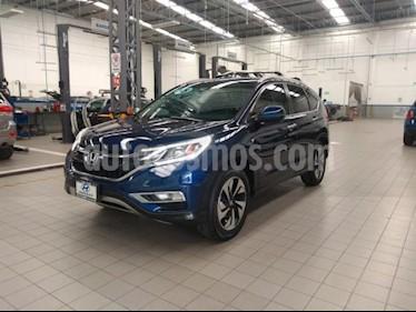 Honda CR-V 5P EXL CVT A/AC. AUT. QC PIEL DVD GPS RA-18 usado (2015) color Azul precio $295,000