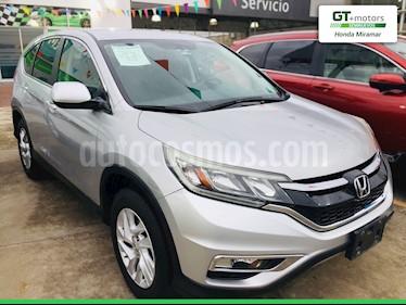 Honda CR-V i-Style usado (2016) color Plata Diamante precio $300,000