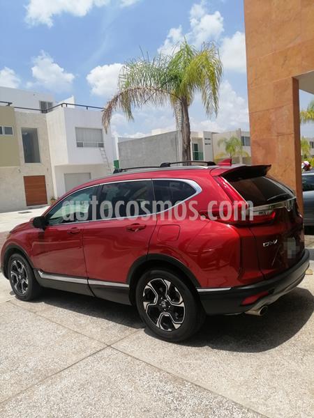 Honda CR-V Touring usado (2018) color Rojo precio $365,000