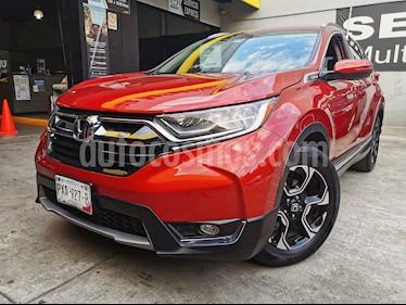 Honda CR-V Touring usado (2017) color Rojo precio $375,000