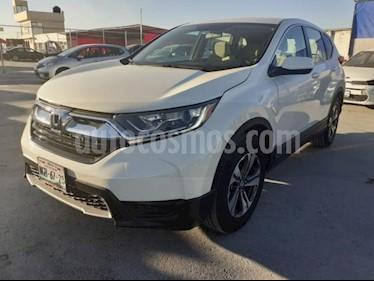 Honda CR-V 5P EX 2.4L CVT RA-17 usado (2018) color Blanco precio $365,000