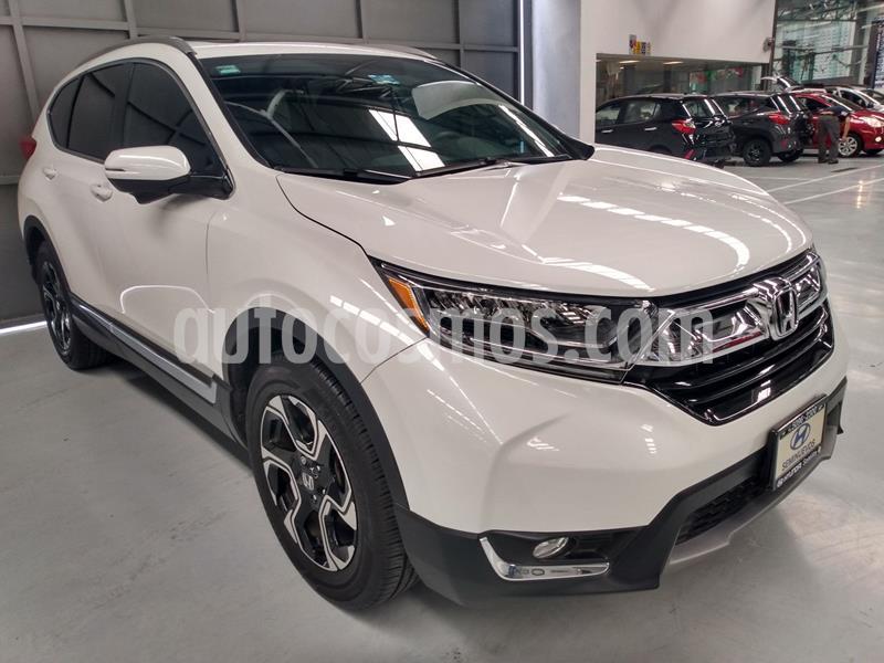 Honda CR-V Touring usado (2019) color Blanco precio $464,900