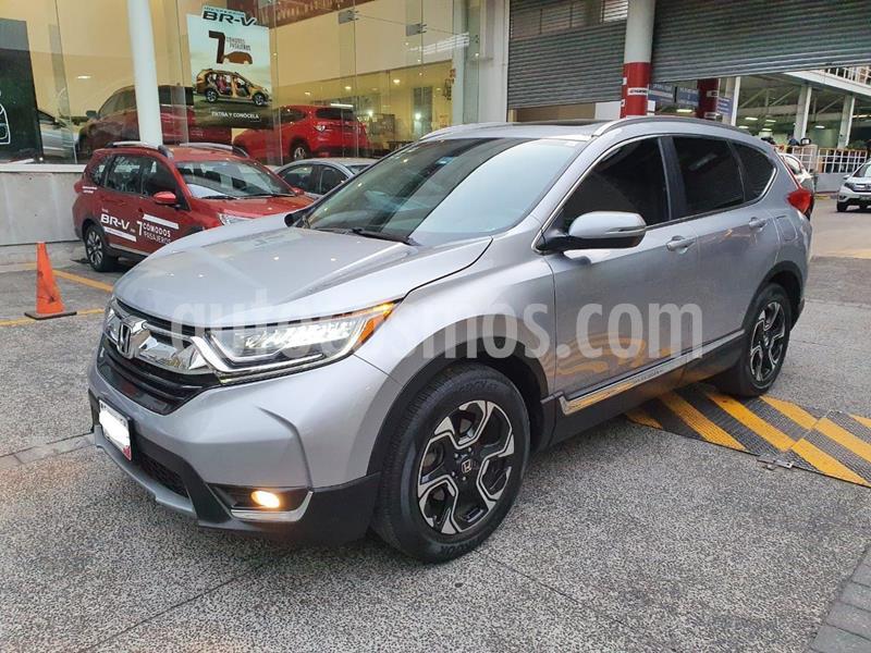 Honda CR-V Touring usado (2017) color Plata Dorado precio $475,000