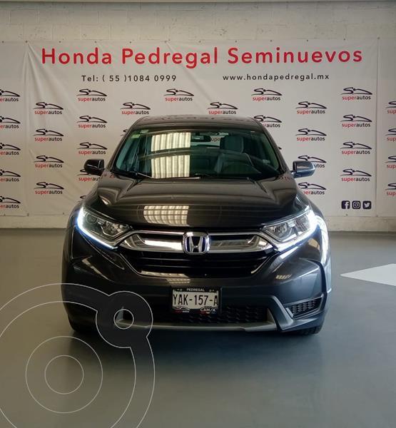 Honda CR-V EX 2.4L (166Hp) usado (2017) color Gris Oscuro precio $349,000