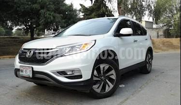 Honda CR-V 5P EXL CVT A/AC. AUT. QC PIEL DVD GPS RA-18 usado (2016) color Blanco precio $310,000