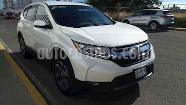 Foto Honda CR-V 5P TURBO PLUS L4/1.5/T AUT usado (2018) color Blanco precio $420,000