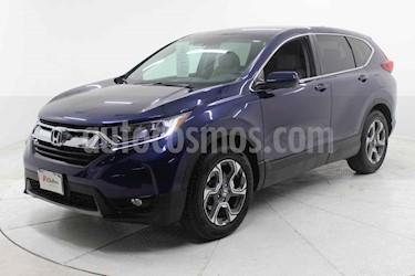 Honda CR-V Turbo Plus usado (2019) color Azul precio $454,000