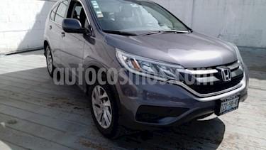 Honda CR-V 5P LX CVT CD RA-17 usado (2016) color Gris precio $275,000