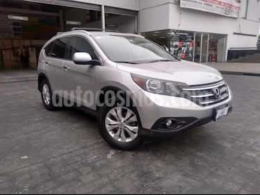 Honda CR-V 5P EXL TA A/AC. AUT. QC PIEL 6 CD F. NIEBLA RA 4X usado (2012) color Plata precio $208,000