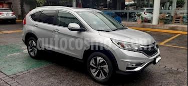 Honda CR-V 5P EXL CVT A/AC. AUT. QC PIEL DVD GPS RA-18 usado (2016) color Plata precio $305,000