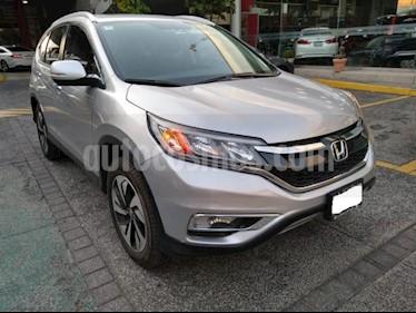 Honda CR-V 5P EXL CVT A/AC. AUT. QC PIEL DVD GPS RA-18 usado (2016) color Plata precio $359,000