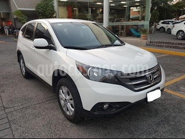 Honda CR-V 5P EXL TA A/AC. AUT. QC PIEL DVD GPS RA usado (2014) color Blanco precio $233,000