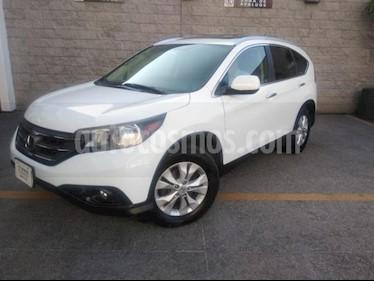 Honda CR-V 5P EXL TA A/AC. AUT. QC PIEL 6 CD F. NIEBLA RA 4X usado (2012) color Blanco precio $198,000