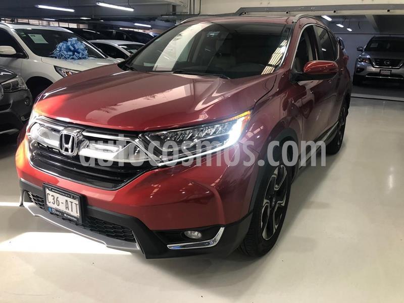 Honda CR-V Touring usado (2017) color Rojo precio $409,100