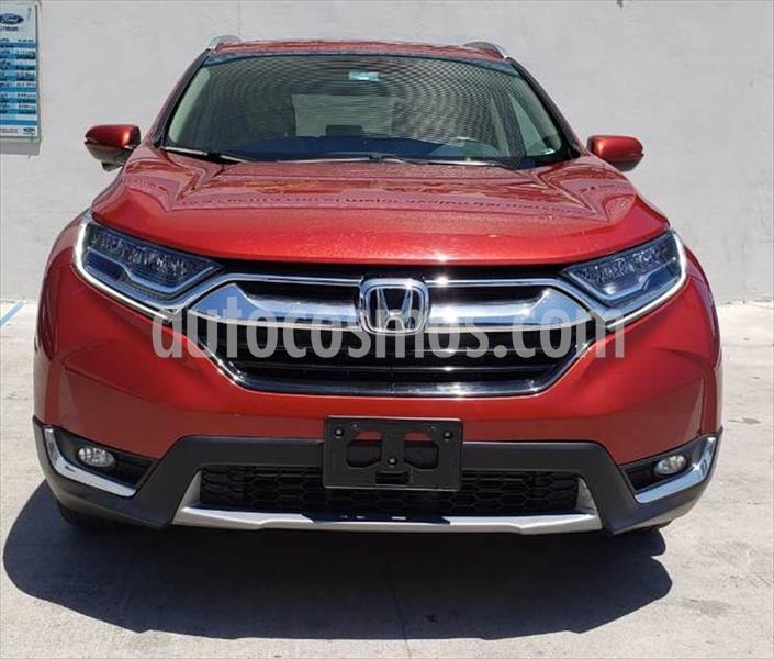 Honda CR-V Touring usado (2019) color Rojo precio $450,000