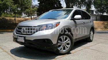 Honda CR-V 5P EXL TA A/AC. AUT. QC PIEL DVD GPS RA usado (2014) color Plata precio $248,000