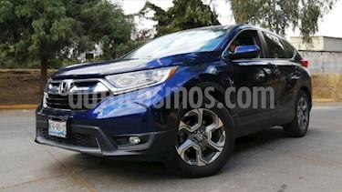 Honda CR-V 5P TURBO PLUS 1.5T CVT PIEL RA-18 usado (2018) color Azul precio $435,000