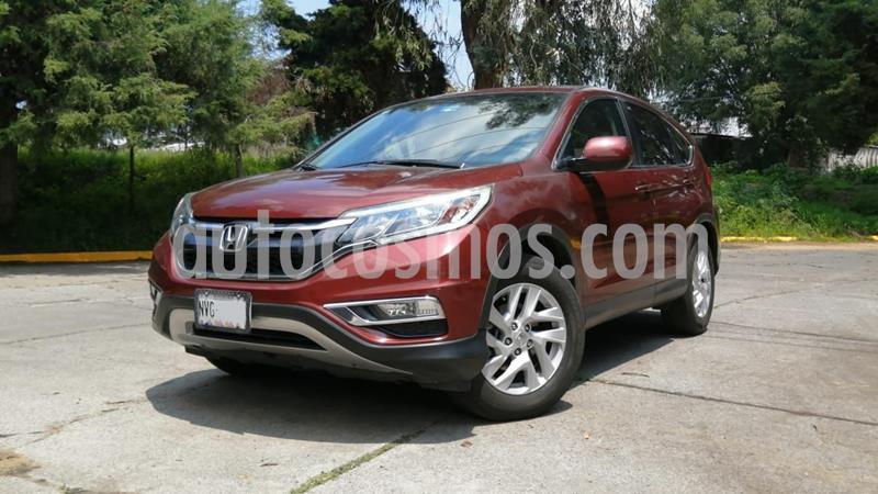 Honda CR-V i-Style usado (2015) color Rojo Cobrizo precio $270,000