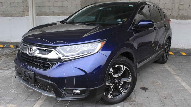 Foto Honda CR-V Touring usado (2019) color Azul precio $530,000