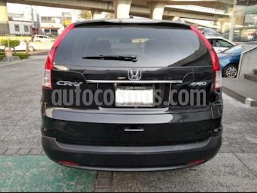 Honda CR-V 5P EXL TA A/AC. AUT. QC PIEL 6 CD F. NIEBLA RA 4X usado (2013) color Negro precio $239,000