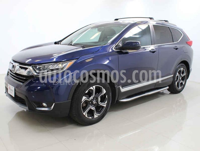 Honda CR-V Touring usado (2018) color Azul precio $428,000