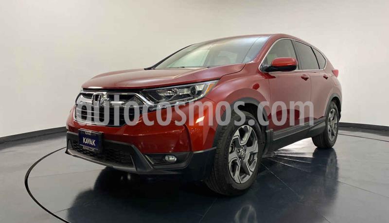 Honda CR-V Turbo Plus usado (2018) color Rojo precio $419,999