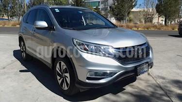 Honda CR-V 5P EXL CVT A/AC. AUT. QC PIEL DVD GPS RA-18 usado (2016) color Gris precio $345,000