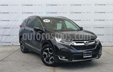 Honda CR-V Touring usado (2018) color Negro Cristal precio $440,000