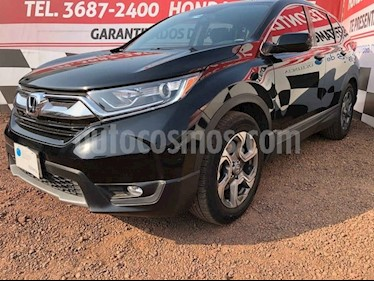 Honda CR-V Turbo Plus usado (2018) color Negro precio $390,000