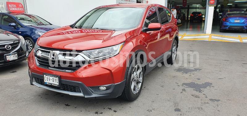 Honda CR-V Turbo Plus usado (2018) color Rojo precio $380,000