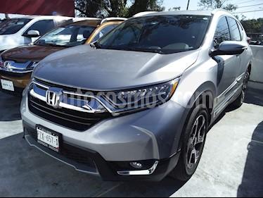 Honda CR-V Touring usado (2017) color Plata precio $390,000