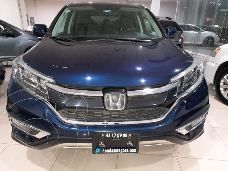 Honda CR-V EXL 2.4L (166Hp) usado (2016) color Azul Marino precio $307,981