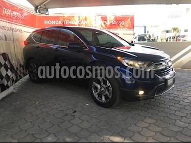 Honda CR-V Turbo Plus usado (2018) color Azul precio $369,000