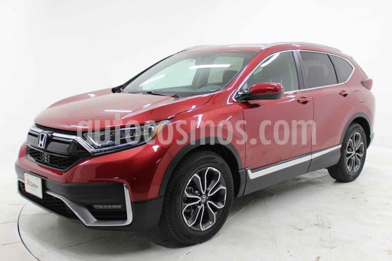 Honda CR-V Touring usado (2020) color Rojo precio $587,000
