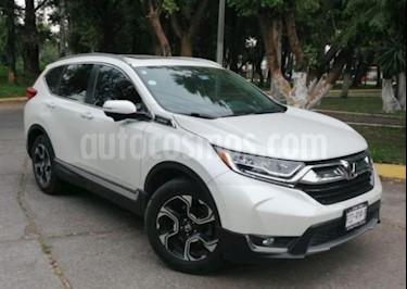 Honda CR-V 5p Touring L4/1.5/T Aut usado (2017) color Blanco precio $429,000