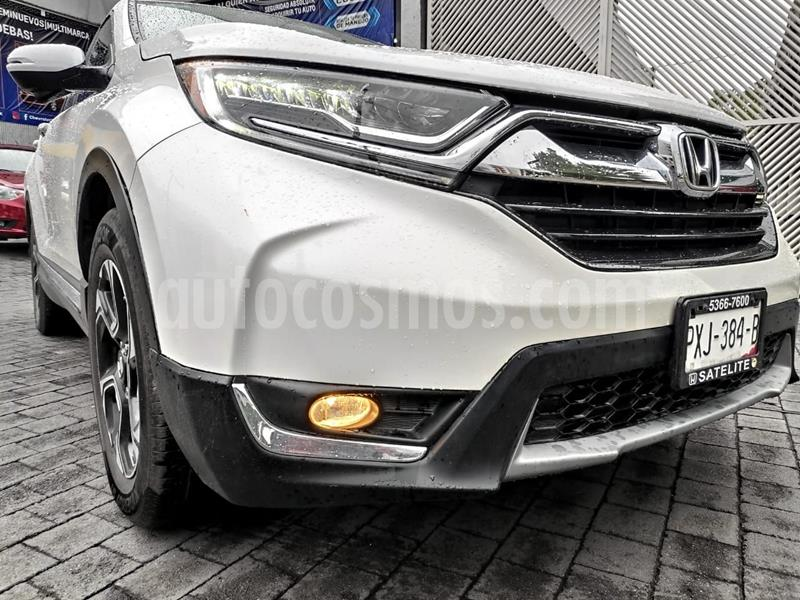 Honda CR-V Touring usado (2017) color Blanco precio $390,000