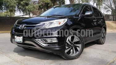 Honda CR-V 5P EXL CVT A/AC. AUT. QC PIEL DVD GPS RA-18 usado (2016) color Negro precio $329,000