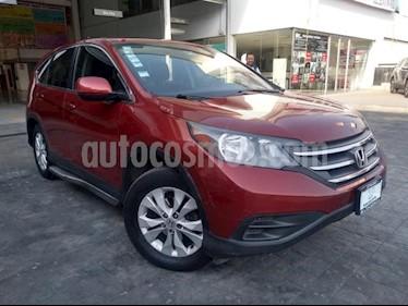 Honda CR-V 5P LX TA CD RA usado (2014) color Rojo precio $249,000