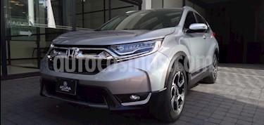 Honda CR-V 5P TOURING 1.5T CVT PIEL QC F.LED RA-18 usado (2017) color Plata precio $399,000