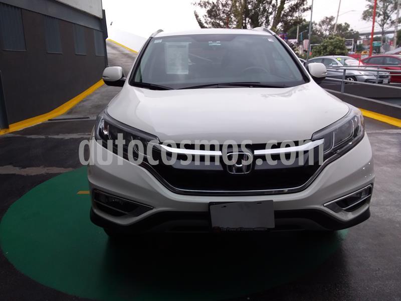 Honda CR-V EXL Navi usado (2016) color Blanco precio $325,000