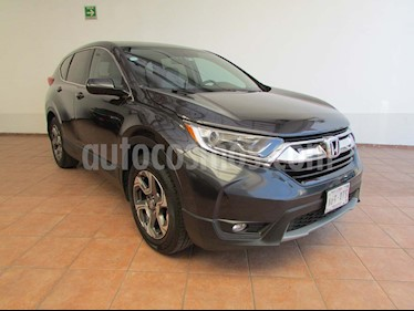 Honda CR-V Turbo Plus usado (2018) color Gris precio $348,000