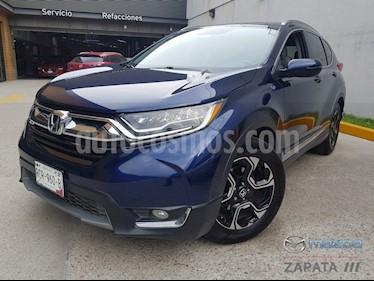 Honda CR-V Touring usado (2017) color Azul Oscuro precio $395,000