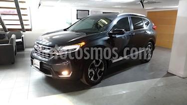Honda CR-V Touring usado (2018) color Gris precio $420,000