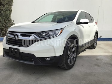 Honda CR-V Turbo Plus usado (2018) color Blanco precio $380,000